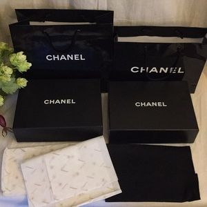 Chanel Empty Boxes Bags +